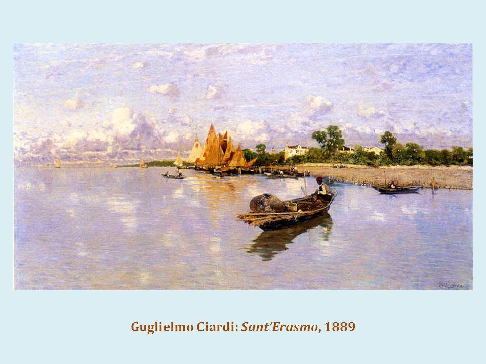 Guglielmo Ciardi: Sant'Erasmo, 1889