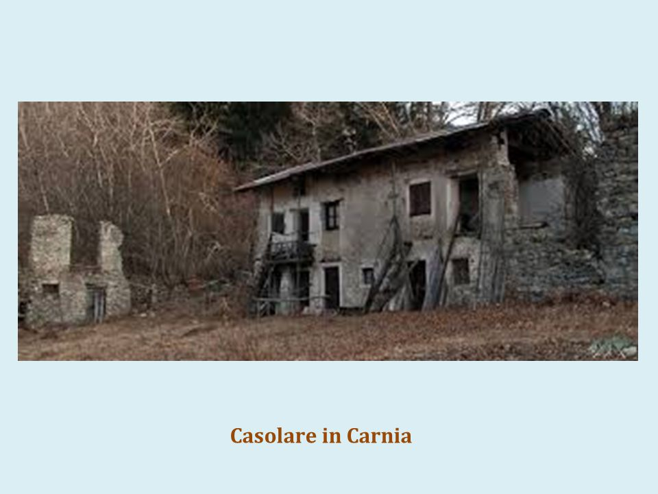 Corona 3 Casolare in Carnia