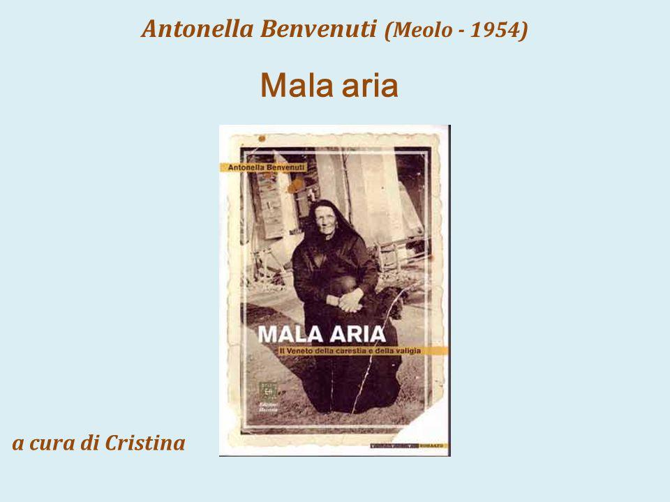 Antonella Benvenuti (Meolo - 1954)