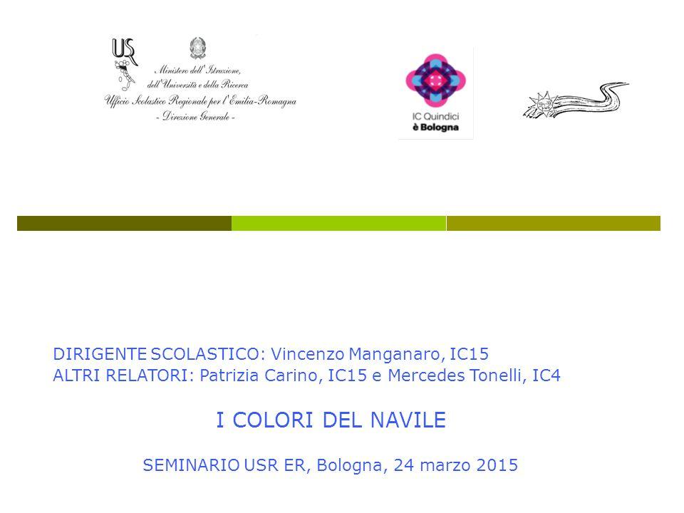 SEMINARIO USR ER, Bologna, 24 marzo 2015