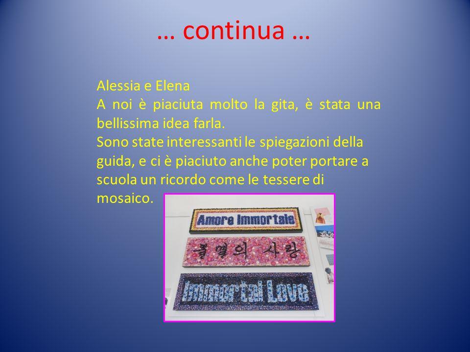 … continua … Alessia e Elena