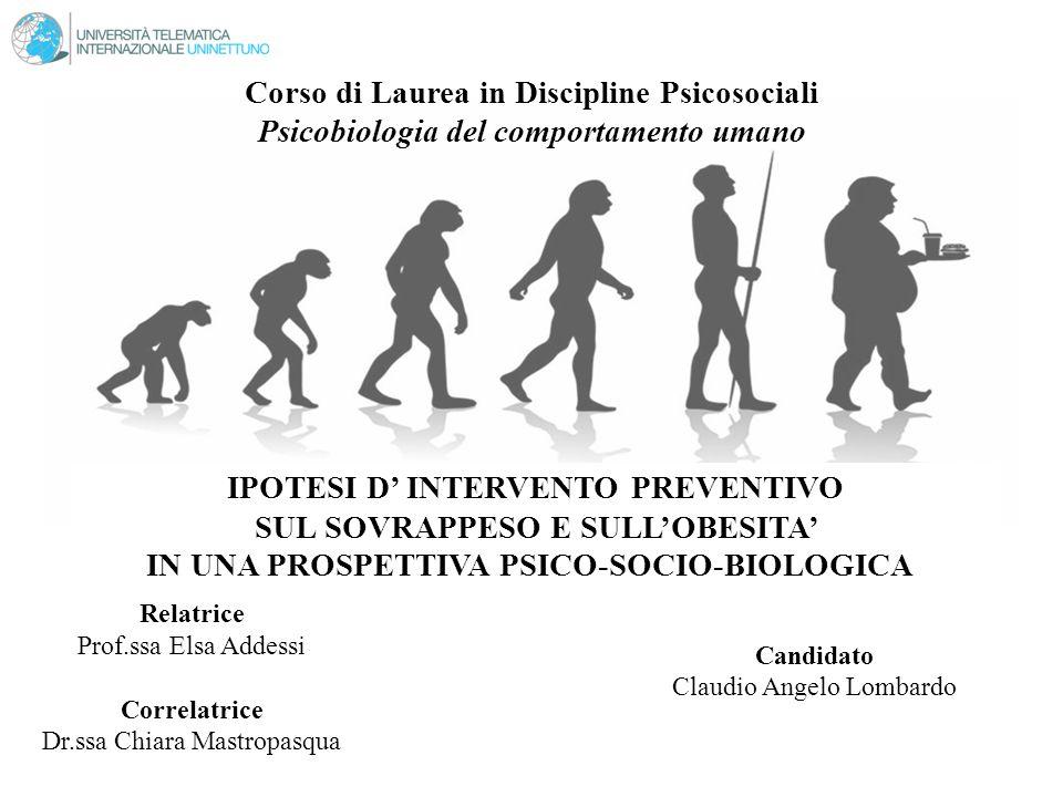 Corso di Laurea in Discipline Psicosociali