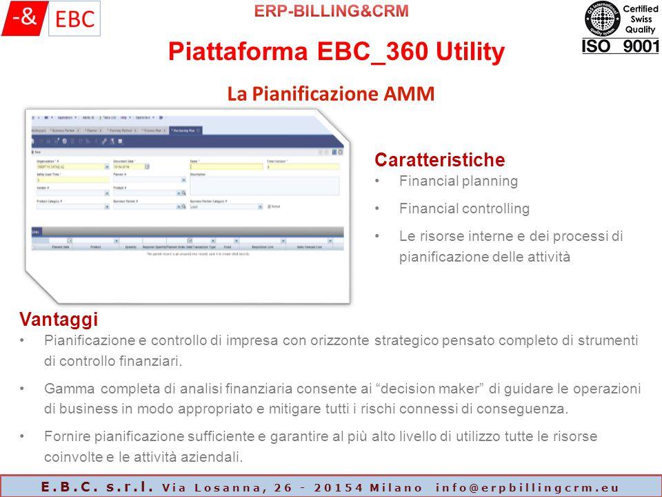 Piattaforma EBC_360 Utility