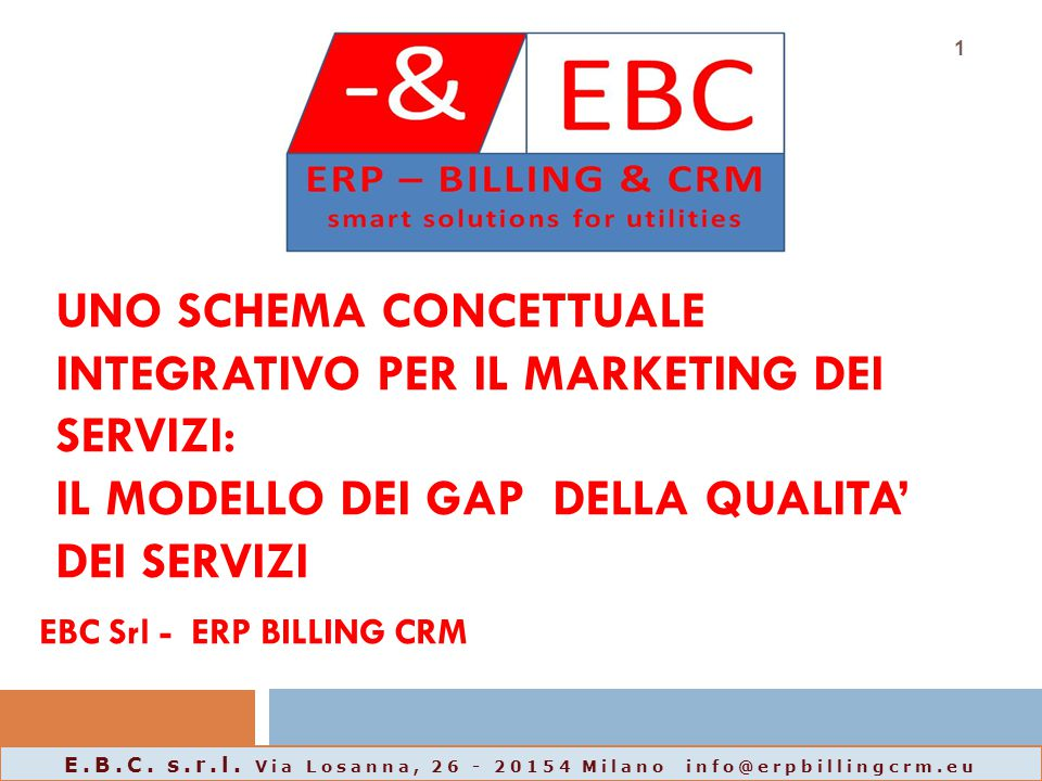 EBC Srl - ERP BILLING CRM