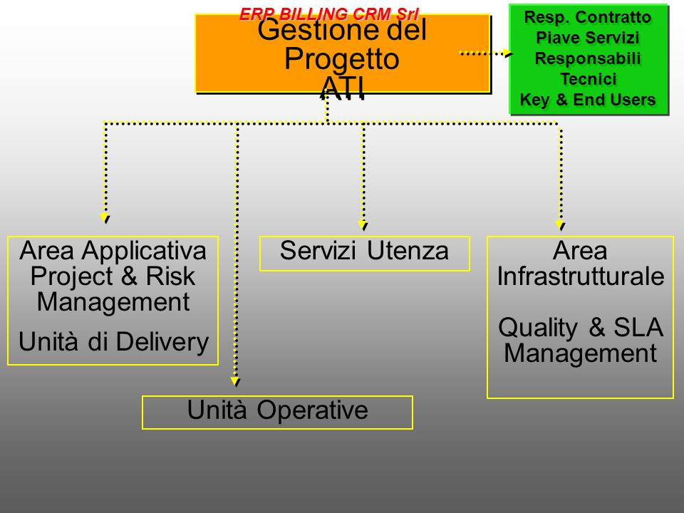 Gestione del Progetto ATI Area Applicativa Project & Risk Management