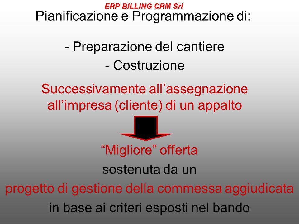 Pianificazione e Programmazione di: