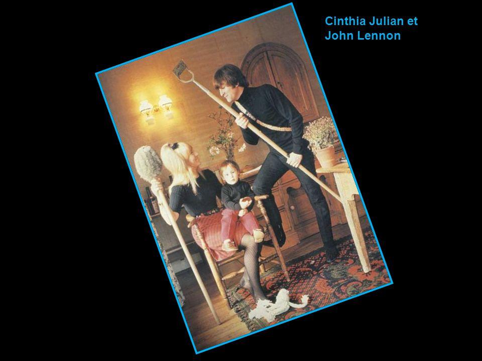 Cinthia Julian et John Lennon