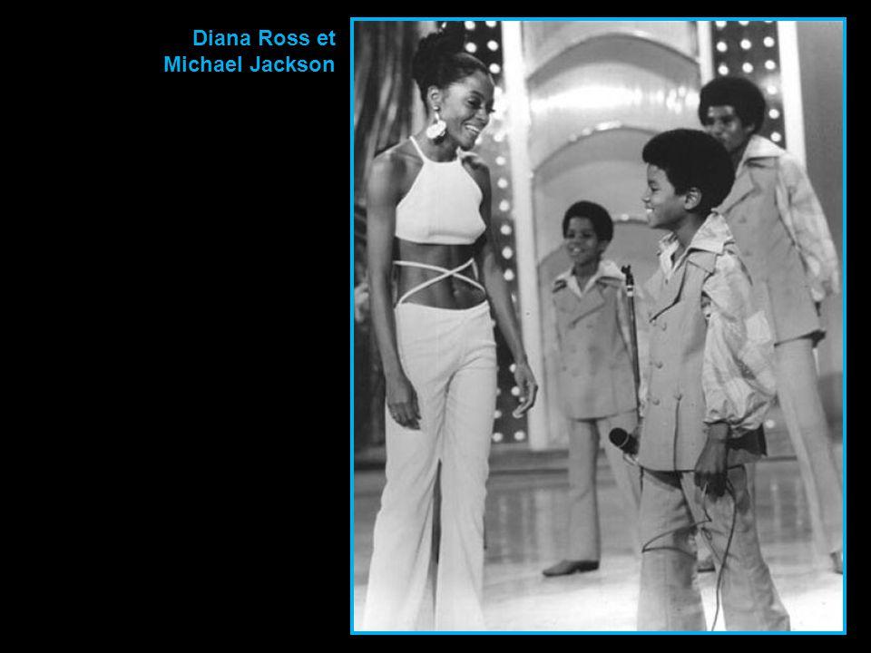 Diana Ross et Michael Jackson