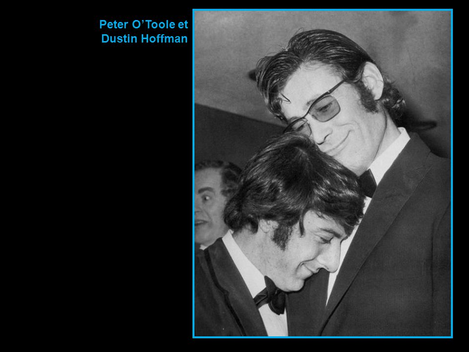Peter O'Toole et Dustin Hoffman