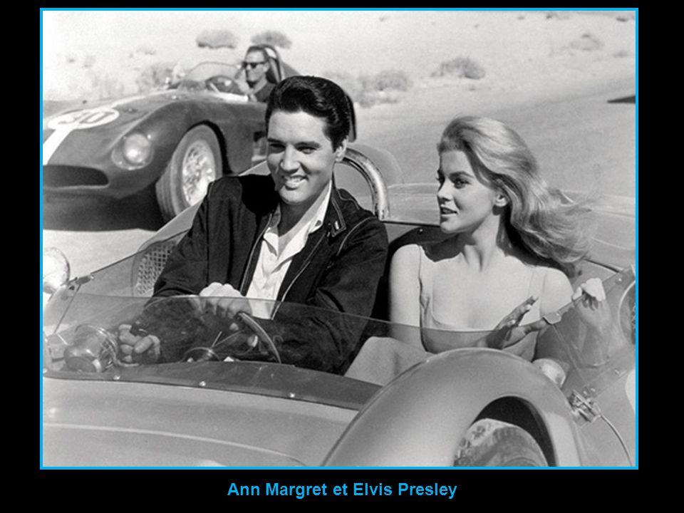 Ann Margret et Elvis Presley