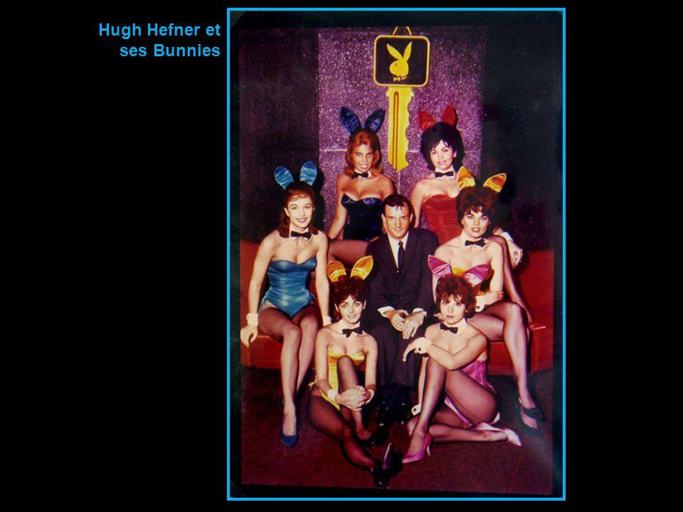 Hugh Hefner et ses Bunnies
