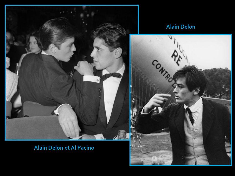 Alain Delon et Al Pacino
