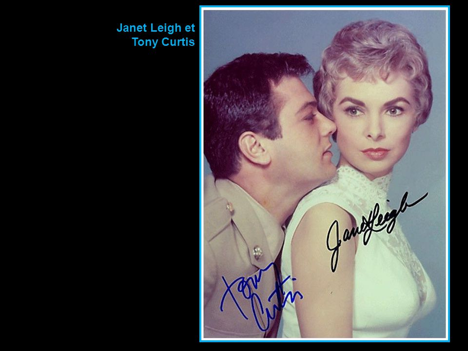 Janet Leigh et Tony Curtis