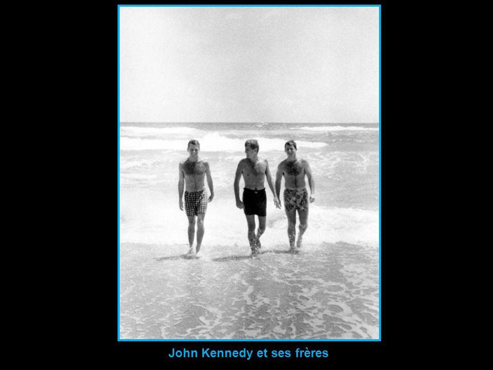 John Kennedy et ses frères