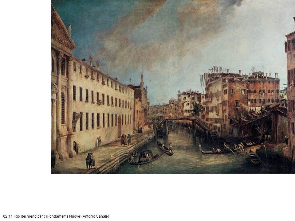 02.11. Rio dei mendicanti (Fondamenta Nuove)(Antonio Canale)