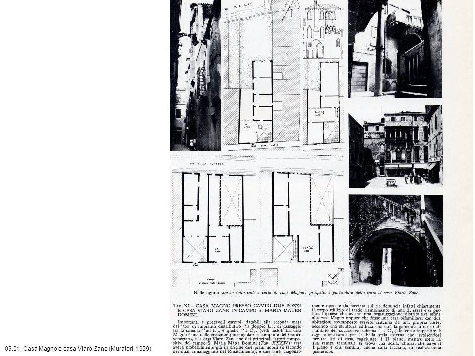 03.01. Casa Magno e casa Viaro-Zane (Muratori, 1959)