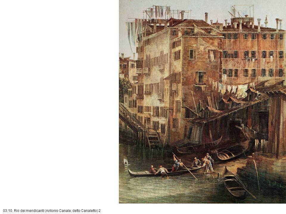 03.10. Rio dei mendicanti (Antonio Canale, detto Canaletto) 2