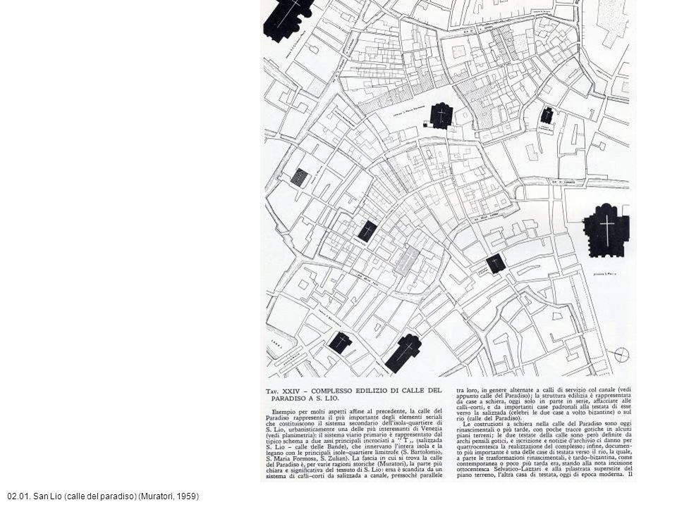 02.01. San Lio (calle del paradiso) (Muratori, 1959)