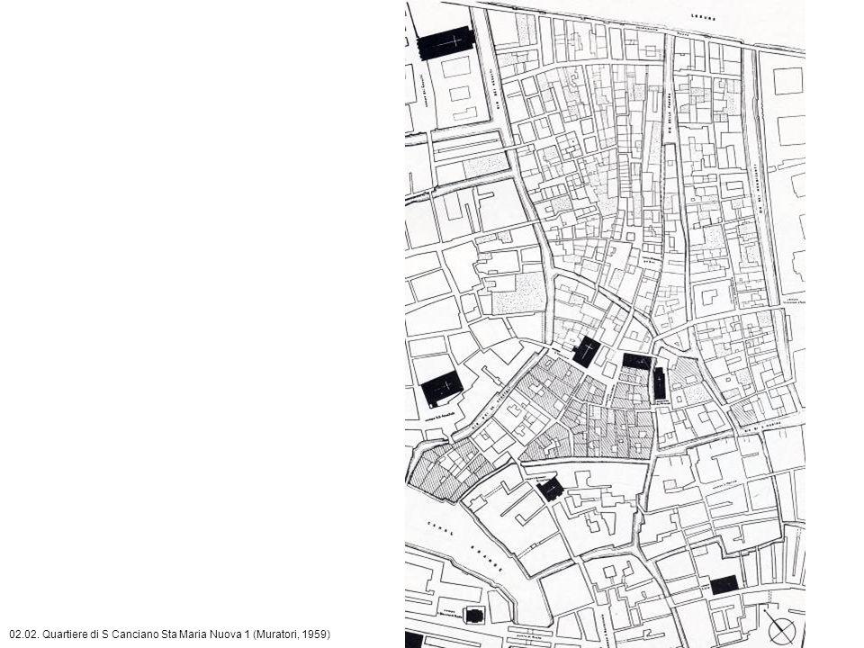 02.02. Quartiere di S Canciano Sta Maria Nuova 1 (Muratori, 1959)