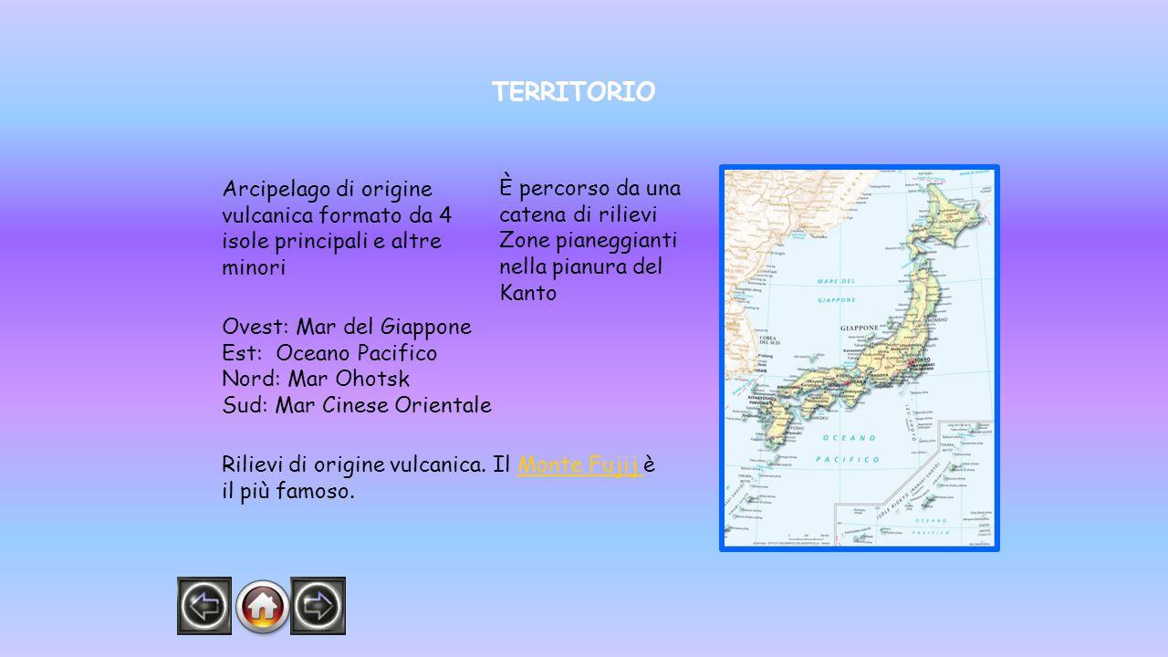 TERRITORIO Arcipelago di origine vulcanica formato da 4 isole principali e altre minori. È percorso da una catena di rilievi.