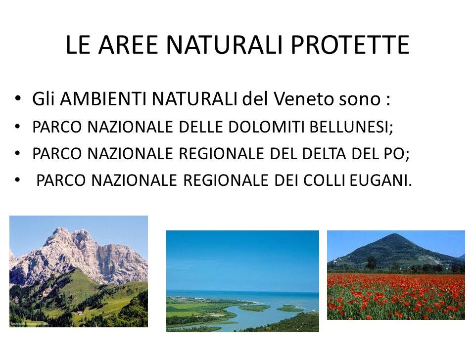 LE AREE NATURALI PROTETTE