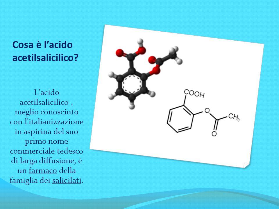 Cosa è l'acido acetilsalicilico