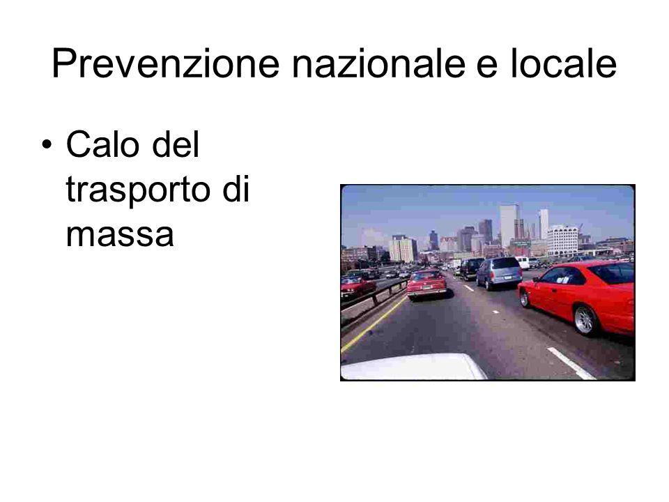 Prevenzione nazionale e locale