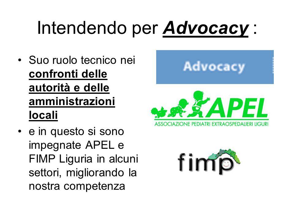 Intendendo per Advocacy :