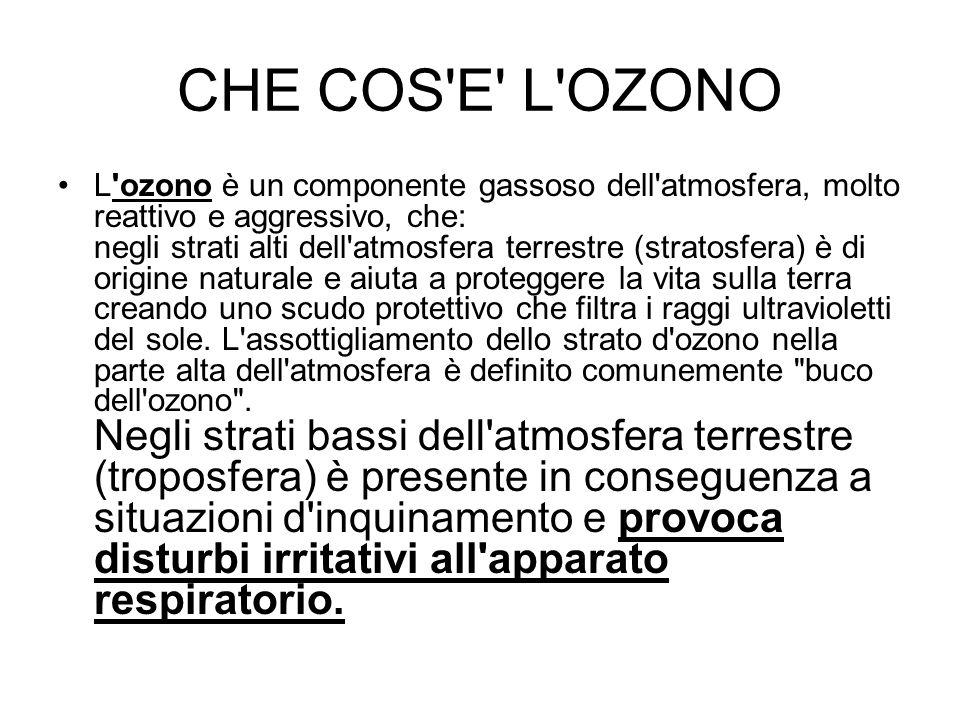 CHE COS E L OZONO