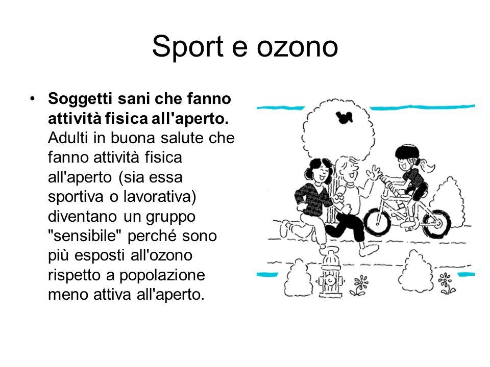 Sport e ozono