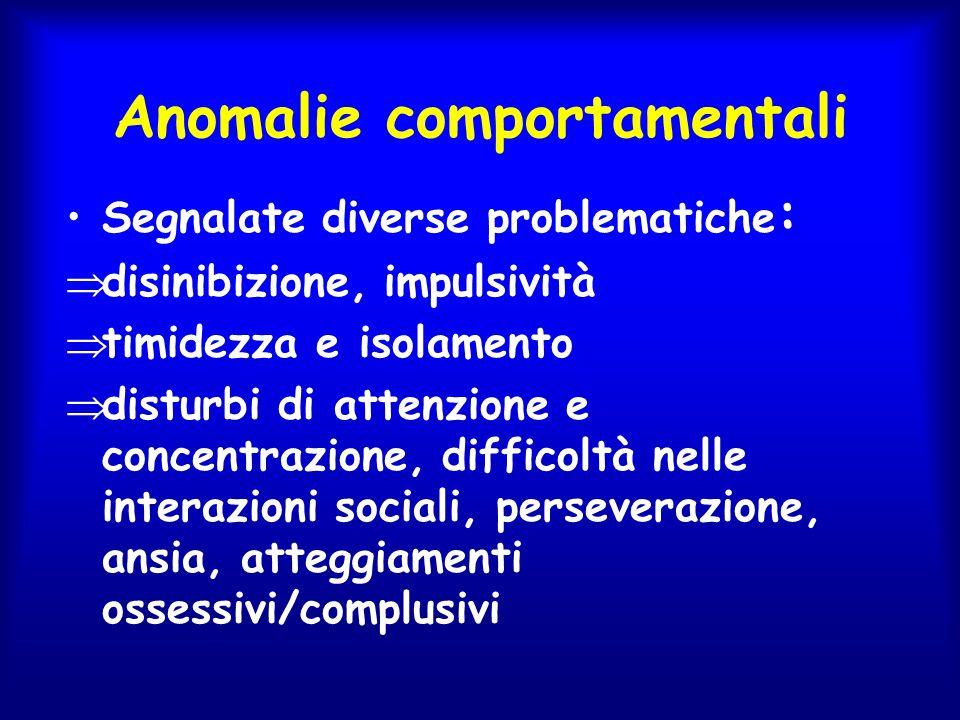 Anomalie comportamentali
