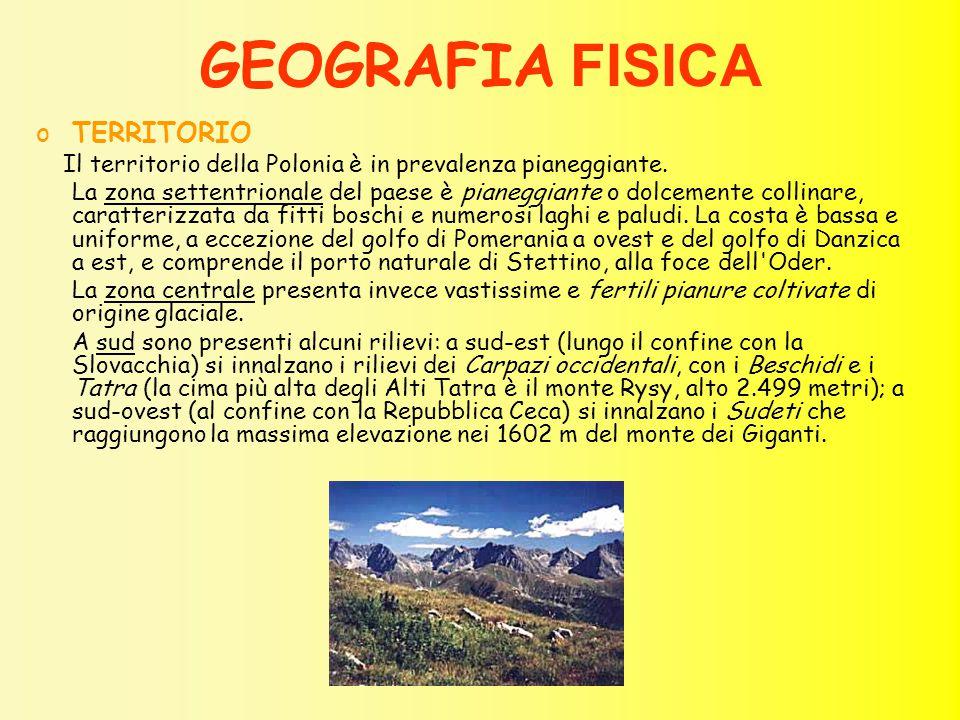 GEOGRAFIA FISICA TERRITORIO