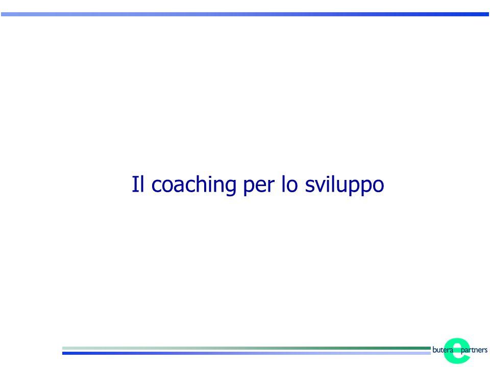 Il coaching per lo sviluppo