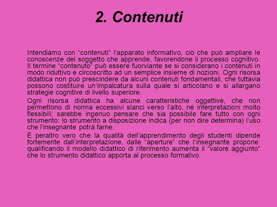 2. Contenuti