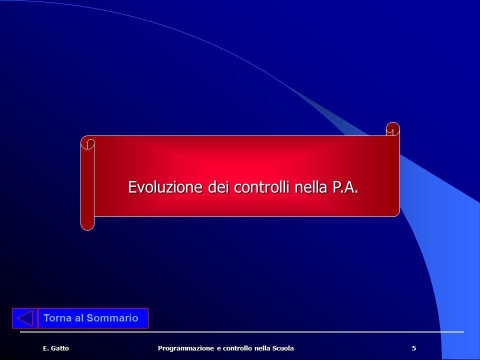 Evoluzione dei controlli nella P.A.