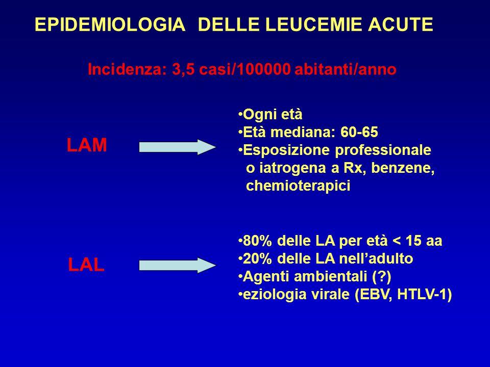 EPIDEMIOLOGIA DELLE LEUCEMIE ACUTE