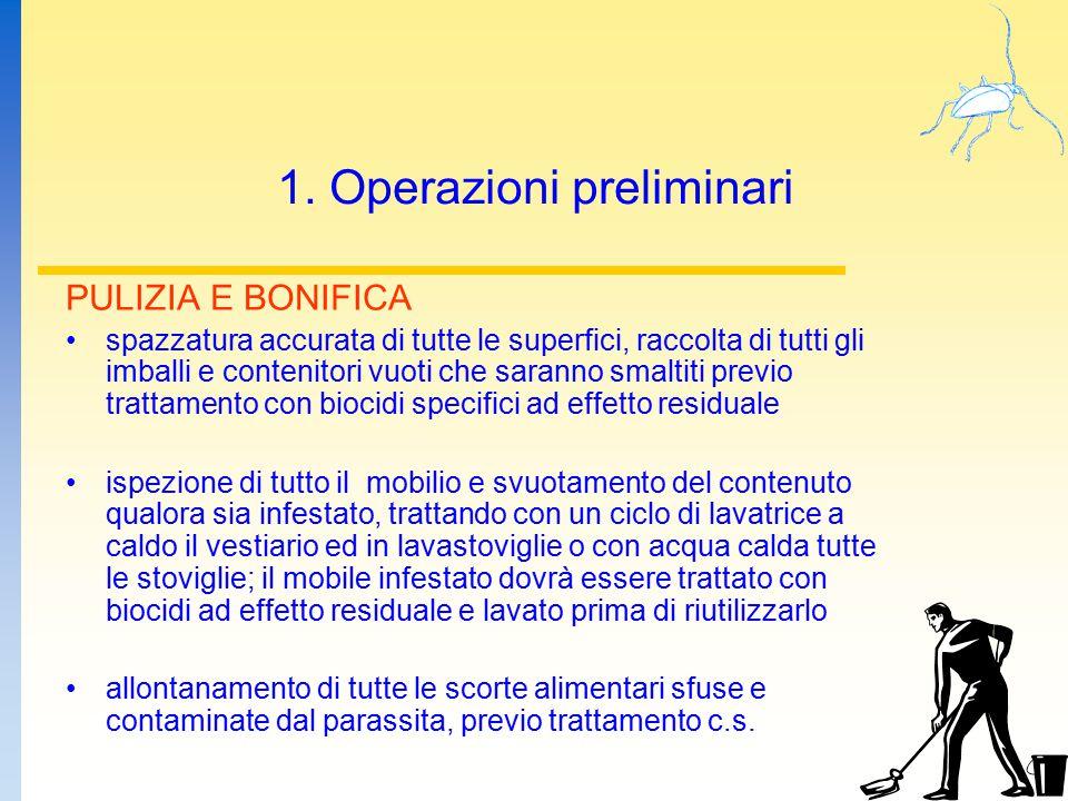 1. Operazioni preliminari