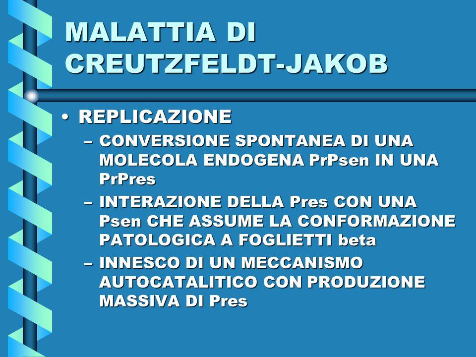 MALATTIA DI CREUTZFELDT-JAKOB
