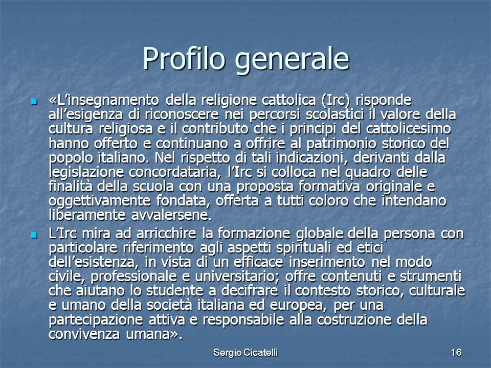 Profilo generale