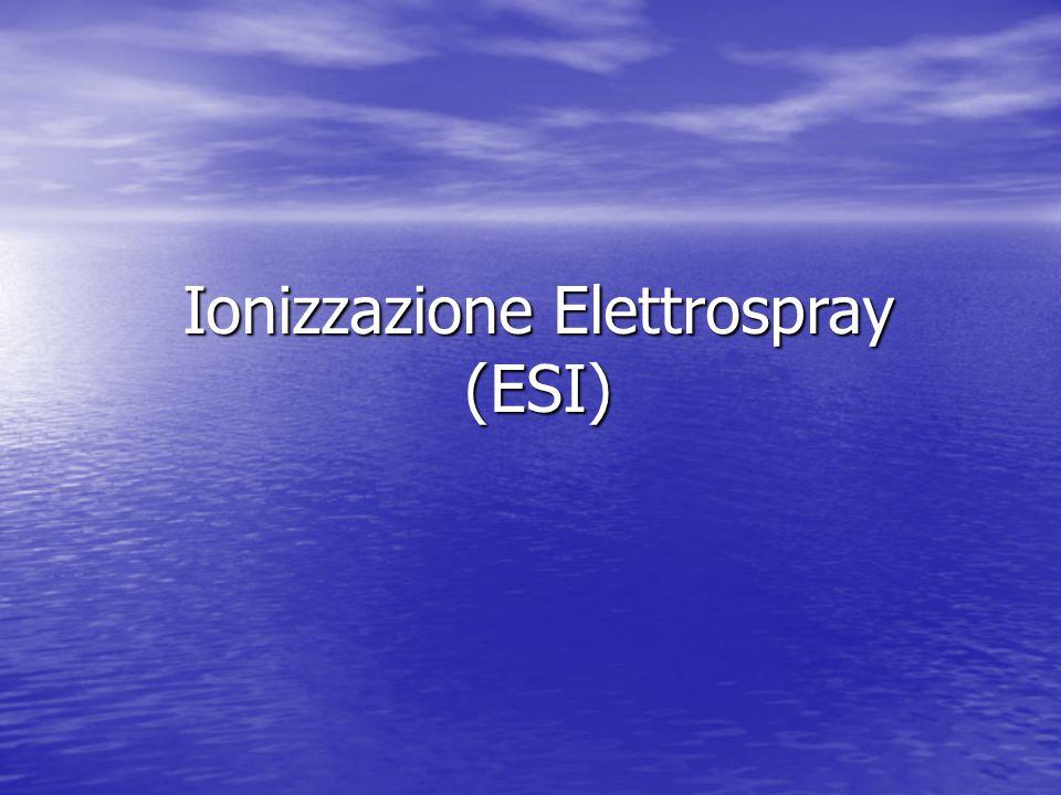 Ionizzazione Elettrospray (ESI)