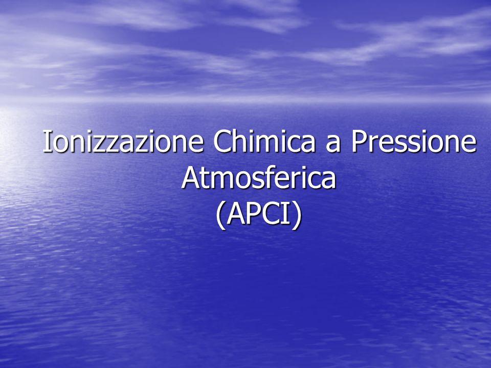 Ionizzazione Chimica a Pressione Atmosferica (APCI)