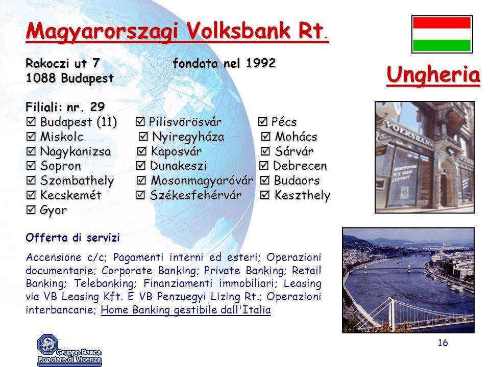 Magyarorszagi Volksbank Rt.