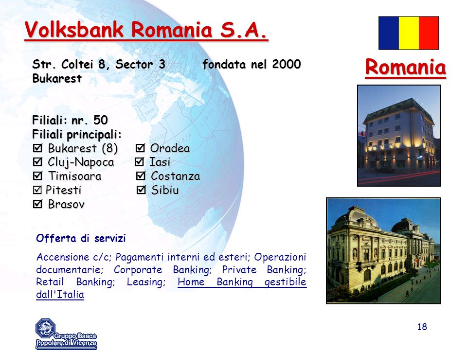 Volksbank Romania S.A. Romania