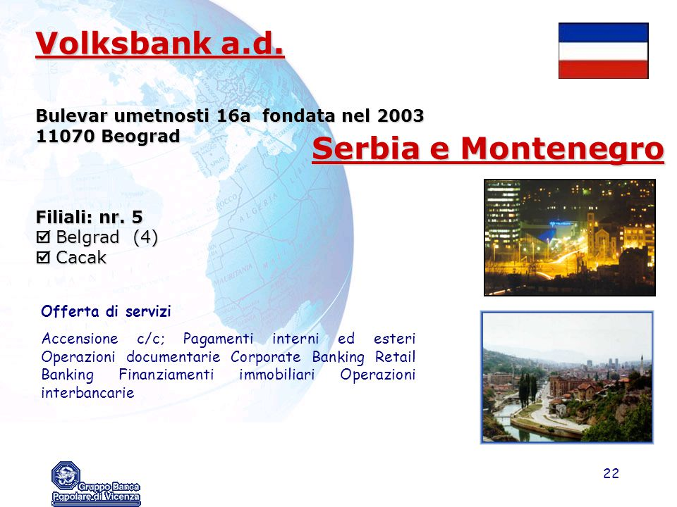 Volksbank a.d. Serbia e Montenegro