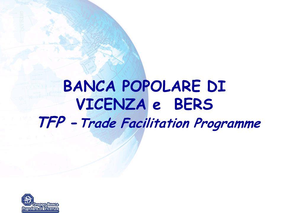 BANCA POPOLARE DI VICENZA e BERS TFP -Trade Facilitation Programme