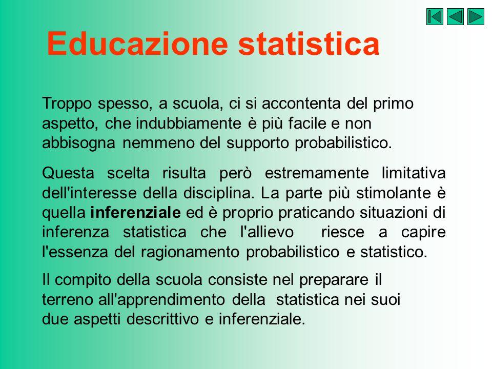 Educazione statistica