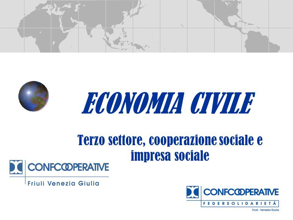 Terzo settore, cooperazione sociale e impresa sociale