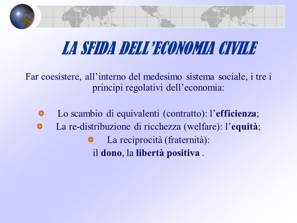 LA SFIDA DELL'ECONOMIA CIVILE