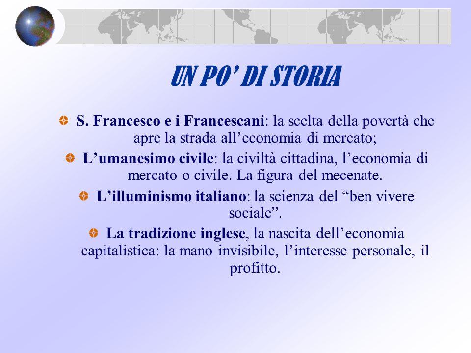 L'illuminismo italiano: la scienza del ben vivere sociale .