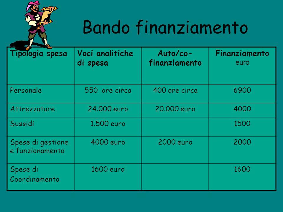 Auto/co-finanziamento